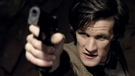 smith gun Doctor Who: New Matt Smith Trailer