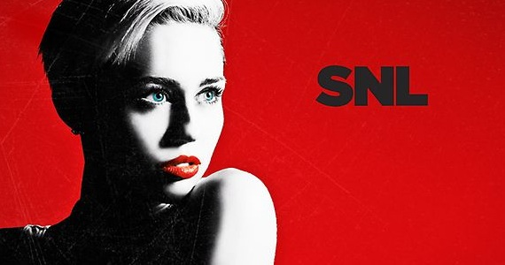 snl miley bumper Saturday Night Live Miley Cyrus Review: Another Step in the Right Direction?