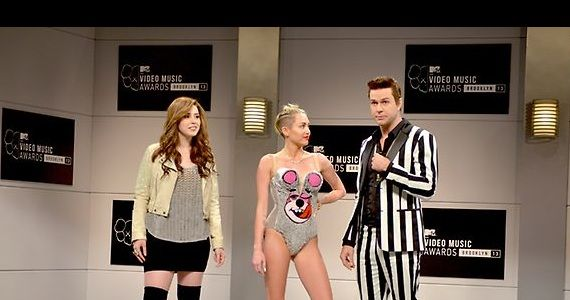 snl miley killam Saturday Night Live Miley Cyrus Review: Another Step in the Right Direction?