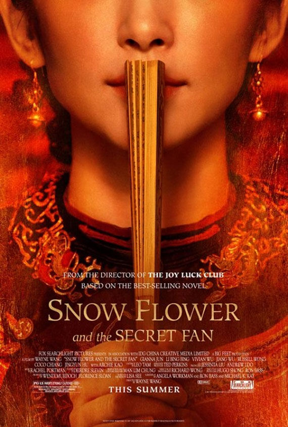 snow flower and the secret fan movie poster Movie Poster Roundup: Thor, Pirates of the Caribbean 4, Your Highness & More