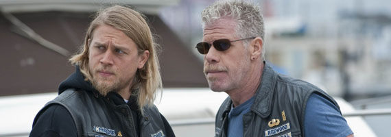 sons of anarchy season 3 premiere clay jax Sons of Anarchy: Season 3 Premiere Review & Discussion