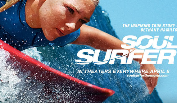 soul surfer poster cropped Video Clip Roundup: Sucker Punch, Soul Surfer, Terra Nova & More