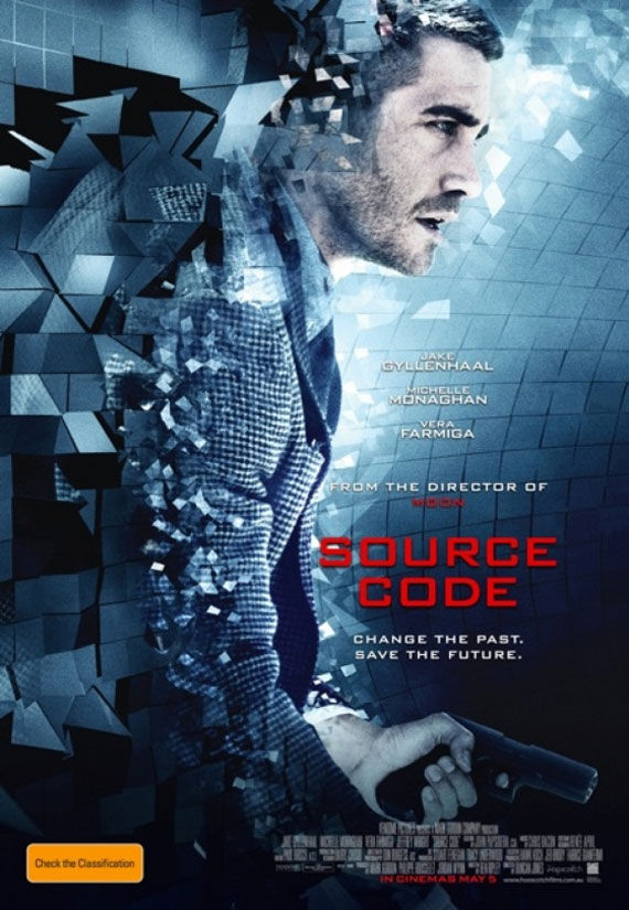 source code poster movie 1 Movie Poster Roundup: Thor, Pirates of the Caribbean 4, Your Highness & More