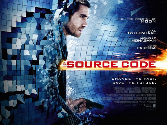 source code poster1 Movie Poster Roundup: Fast Five, Thor, X Men: First Class & More