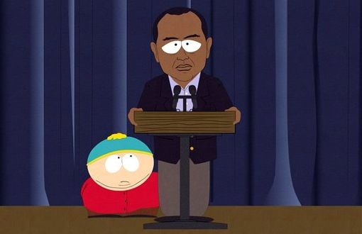 south park tiger South Park Takes on Tiger Woods