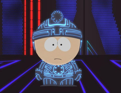 south park tron South Park Skewers Tron and Facebook