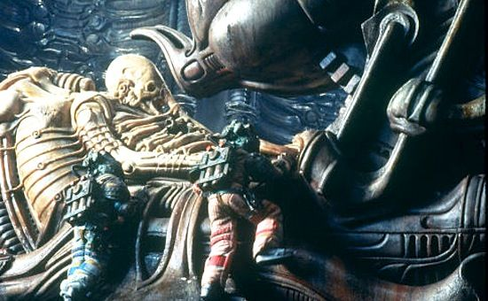 space jockey in ridley scotts alien Ridley Scott Talks Prometheus Philosophy, Space Jockey, & Alien