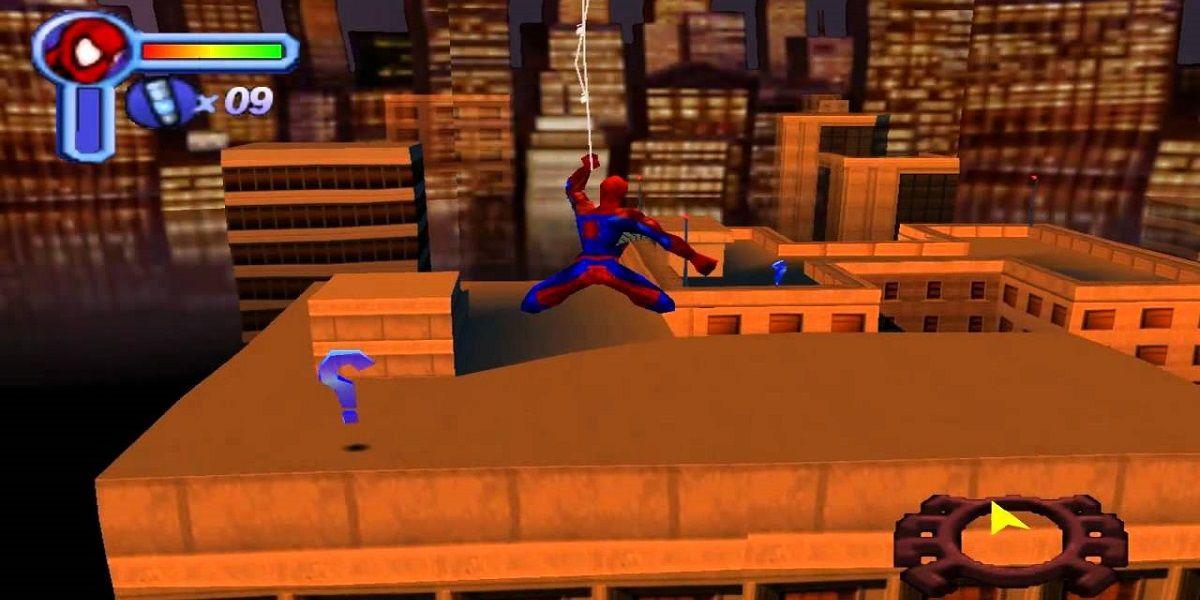 spiderman pc game 2001