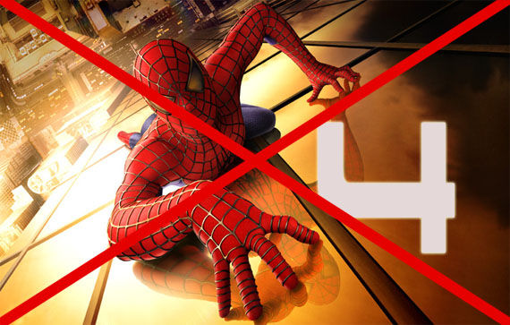 spider man 4 cancelled Spider Man 4 Cancelled! [Updated]
