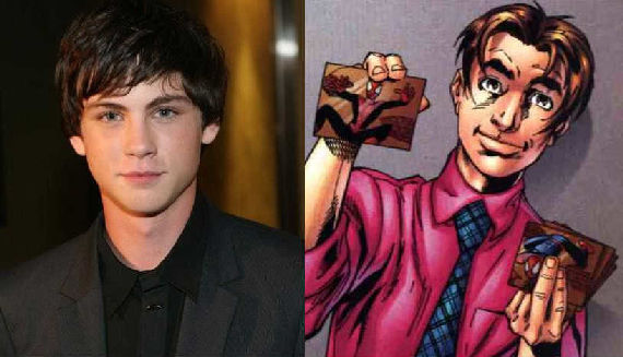 spider man reboot percy jackson logan lerman Percy Jackson Spider Man? [Updated]