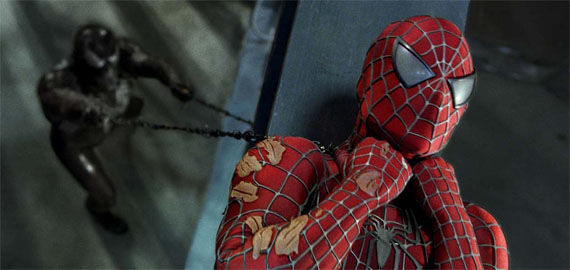 spider man strangled by venom Sam Raimi Controls Spider Man 4 (Unlike Spider Man 3)
