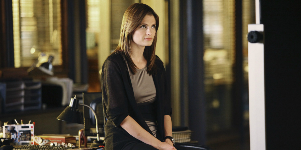 Are kate beckett and castle dating in real life