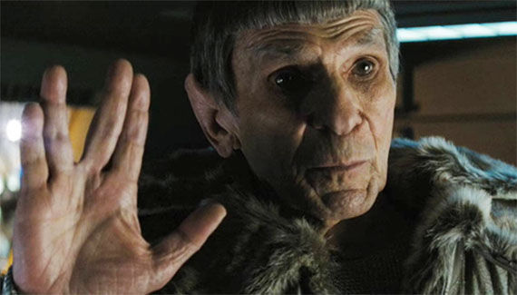 star trek 2 nimoy as spock Roberto Orci Talks Star Trek 2 and Cowboys & Aliens