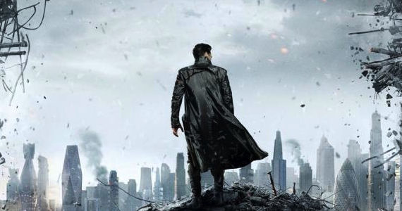 star trek 2 poster Benedict Cumberbatch, J.J. Abrams Talk Star Trek Into Darkness Villain