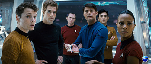 star trek crew1 Damon Lindelof is Scripting Star Trek 2