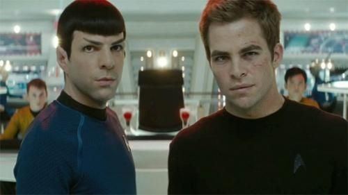 star trek spock and kirk Star Trek 2 Villain(s) Revealed At Last? TOS Character Cameo Confirmed?