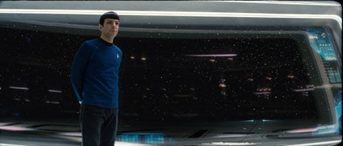 Spock on Enterprise Bridge