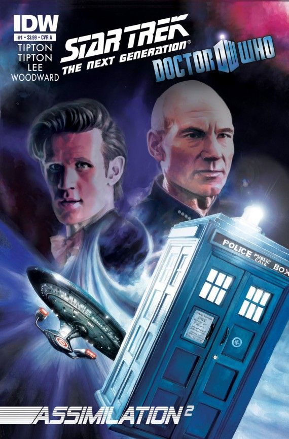 star trek tng doctor who assimilation2 570x865 Star Trek: The Next Generation/Doctor Who: Assimilation2 Cover