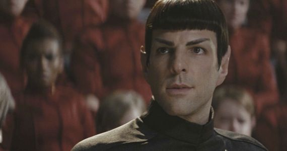 star trek zachary quinto spock Star Trek 2 Set Photo: Spock Versus the Volcano