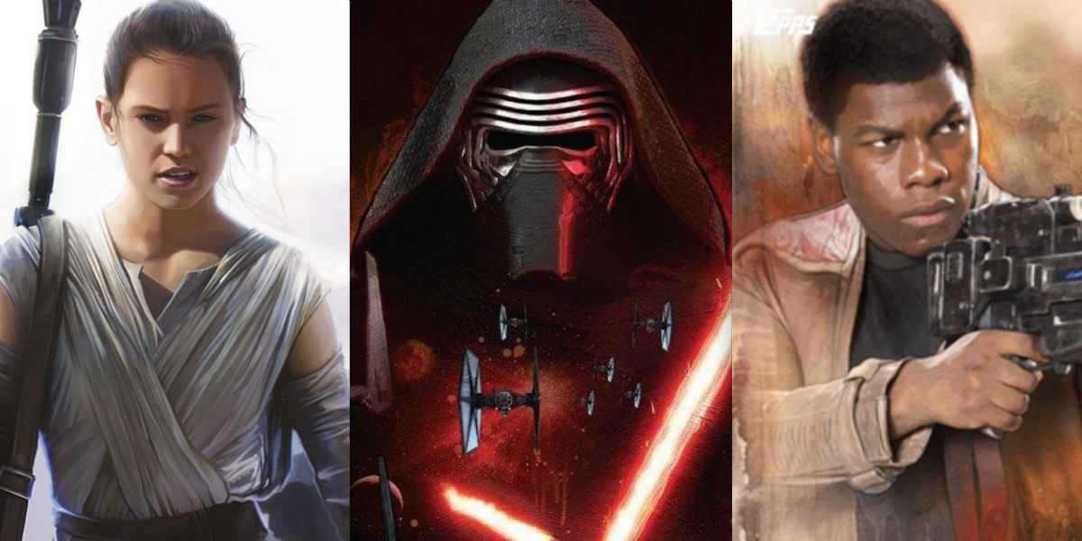 how many star wars 7 characters need to be related