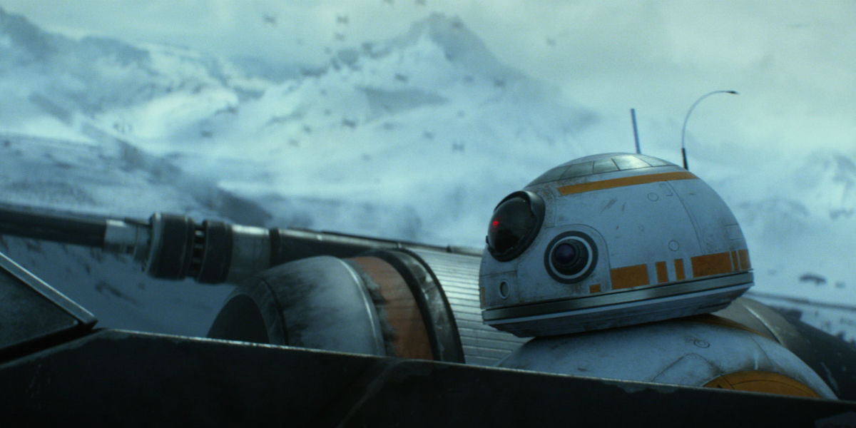star wars 7 lines begin for charity bb 8 character poster