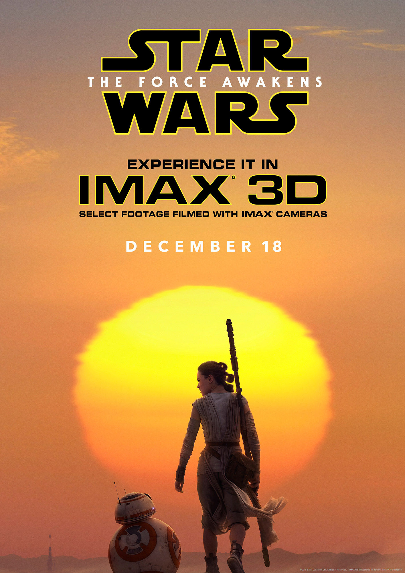 star wars 7 gets an official imax poster. Black Bedroom Furniture Sets. Home Design Ideas