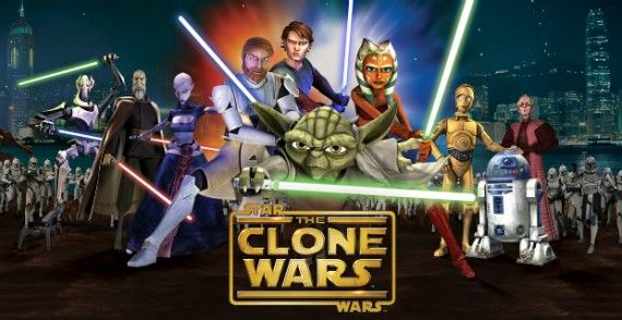 star wars clone wars final season netflix 570x294 Star Wars: The Clone Wars Final Season to Premiere on Netflix