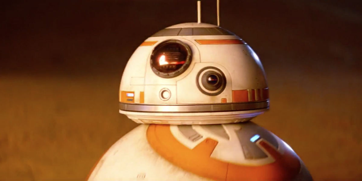 star wars 7 bb 8 meets c 3po r2 d2 in new tv ad