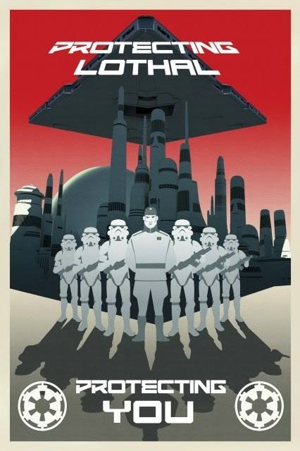 star wars rebels empire poster Star Wars Rebels Empire Propaganda Poster
