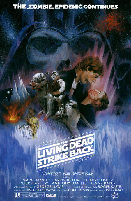 star wars zombies live dead strike back poster Poster Friday: Clash of the Titans, Iron Man 2 & More!