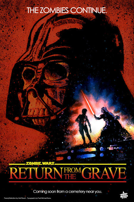 star wars zombies return from the grave poster Poster Friday: Clash of the Titans, Iron Man 2 & More!