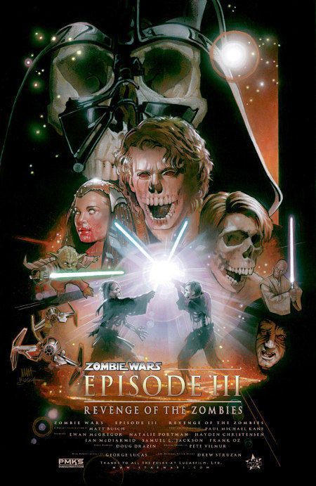 star wars zombies revenge of the zombies poster Poster Friday: Clash of the Titans, Iron Man 2 & More!