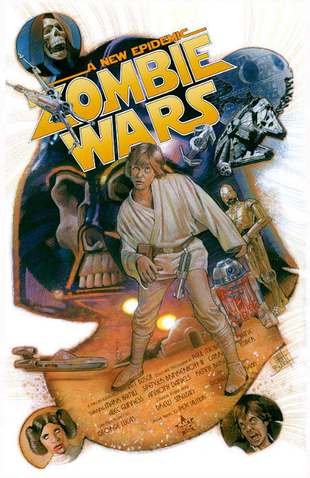star wars zombies zombie wars posters Poster Friday: Clash of the Titans, Iron Man 2 & More!