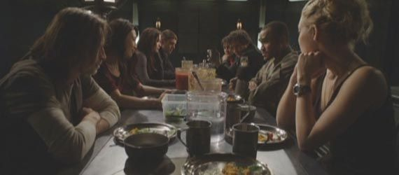 stargate universe finale dinner Stargate Universe Series Finale Review & Discussion