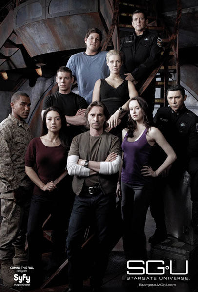 stargate universe july poster 00 NBCs Spin on Stargate Universe Ratings Falls Short