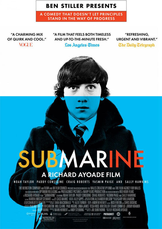 submarine poster Movie Poster Roundup: Conan the Barbarian, Real Steel & More