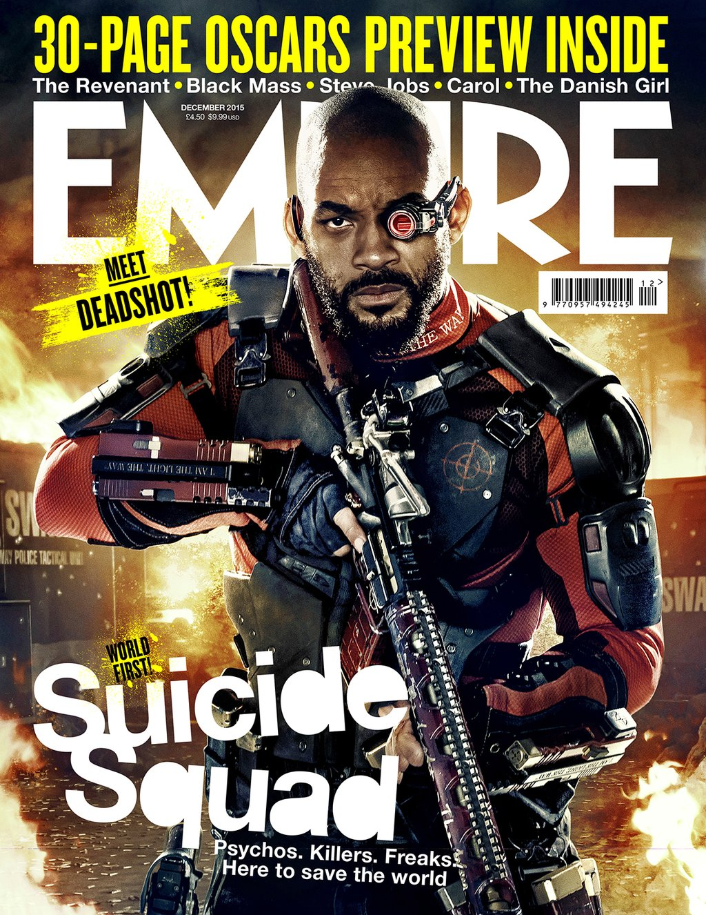 suicide squad harley quinn deadshot get new magazine covers. Black Bedroom Furniture Sets. Home Design Ideas
