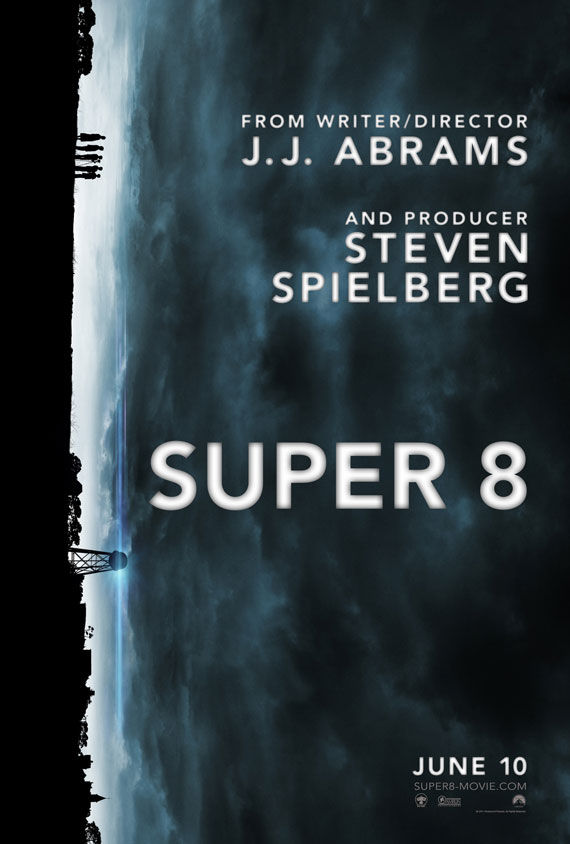 super 8 movie poster Movie Poster Roundup: Thor, Pirates of the Caribbean 4, Your Highness & More