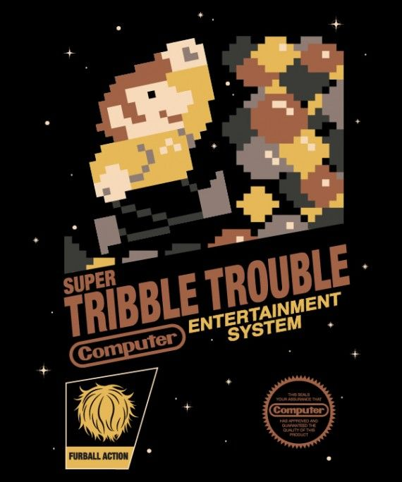 super tribble trouble 570x684 SR Geek Picks: You Know You Grew Up on Disney Movies If..., Superman vs. Thor Video, & More!