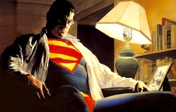 superman by alex ross Zack Snyder Calls Superman Broken, Disses Thor
