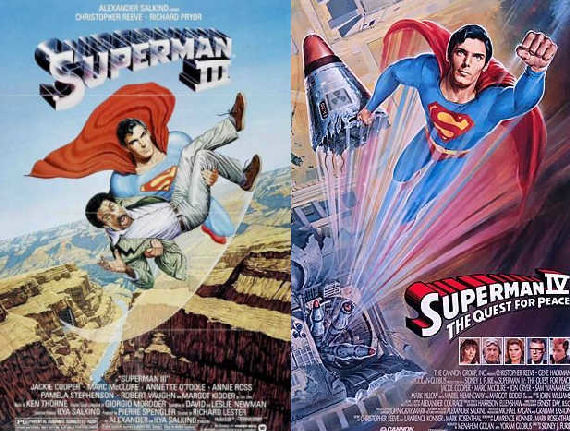 superman iii iv poster Movies & TV Shows Geeks Pretend Dont Exist
