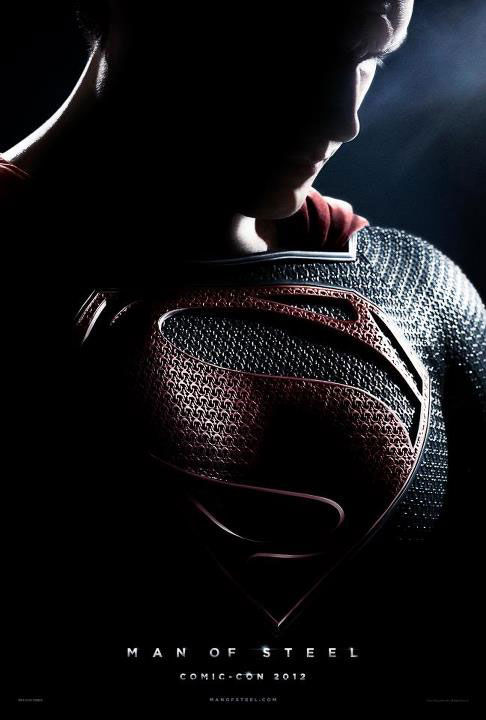 superman man of steel Comic Con 2012: Man of Steel Panel (And New Poster!)