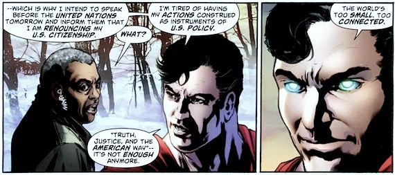 superman renounces citizenship Did Superman REALLY Renounce His American Citizenship?