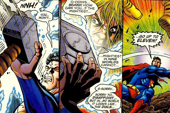 superman versus thor Zack Snyder Calls Superman Broken, Disses Thor