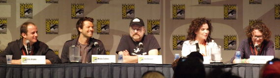 supernatural panel 00 Supernatural 2009 Comic Con Panel