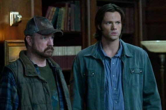 supernatural season 7 premiere 10 570x379 Supernatural Season 7 Premiere   Bobby & Sam