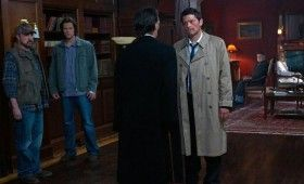supernatural season 7 premiere 6 280x170 Supernatural Season 7 Premiere Photos Pits Castiel Against Death