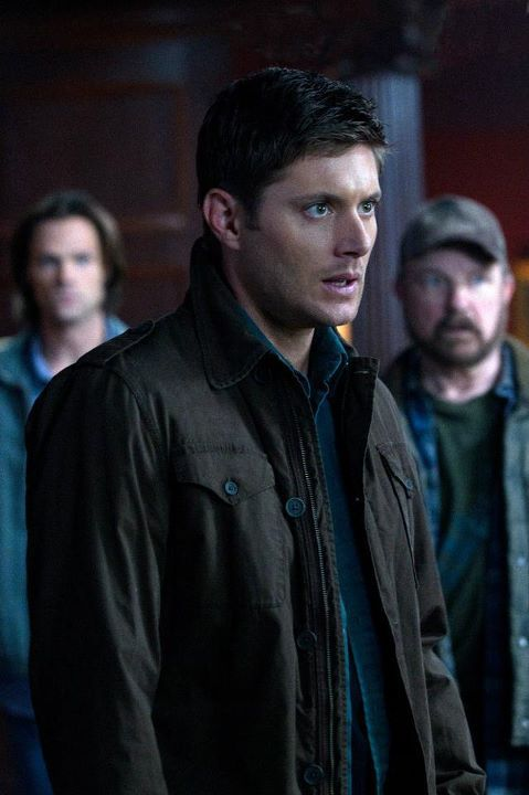 supernatural season 7 premiere 7 Supernatural Season 7 Premiere   Sam, Dean & Bobby