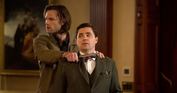 supernatural season 9 episode 16 sam Supernatural Trips, Falls & Explores a Fascinating Collection