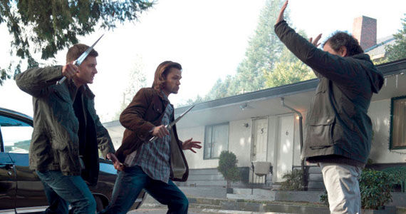 supernatural season 9 episode 18 sam dean meta tron Supernatural Returns & Turns Heroes Into Villains, Villains Into Heroes